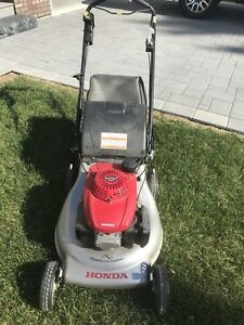 What a bargain! Honda EZ Start self propelled Lawnmower