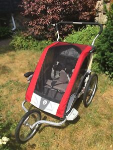 Chariot cougar 2 double comme neuf