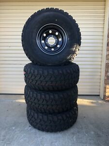 Brand new 33x12.5R15 mud tyres with new 15x8 sunnies  Caboolture Caboolture Area Preview