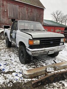 1988 Ford F-150 with a 5 inch lift
