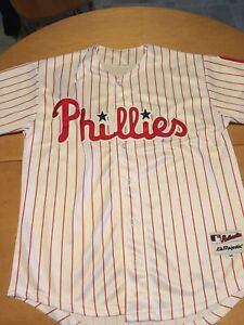 Men's Philadelphia Phillies Ryan Howard Crested Jersey M