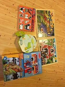 Melissa and doug puzzle lot