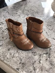 Bottines enfant cow-boy