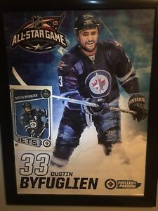 Signed Dustin Byfuglien picture