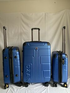 Brand new 3pcs Blue hardcover luggage's set