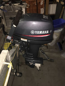 Yamaha 15hp outboard Beresfield Newcastle Area Preview