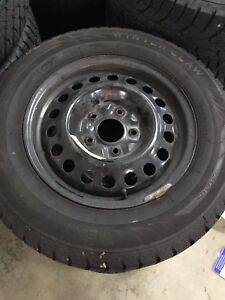 Dodge Grand Caravan winter snow tire set