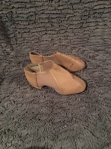 DANCE DANSE brand  NUDE LEATHER JAZZ SHOES