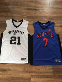NBA Basketball Jerseys Size M