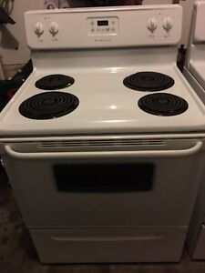 "As Good as New 30"" Frigidaire Lift Top Stove"