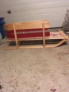 Jab baby sled.  Made in Canada