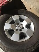 Nissan Navara D40 Rims and Tyres Findon Charles Sturt Area Preview