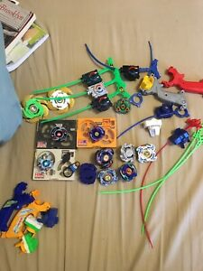 Original beyblades lot from 2001 !
