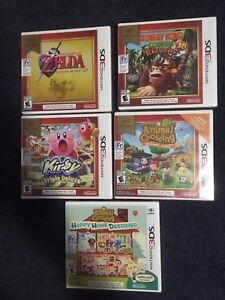 Brand new sealed 3DS games for sale/trade