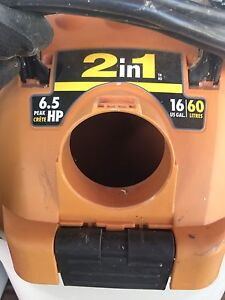 Shop vac 6.5 hp, barley used. Obo