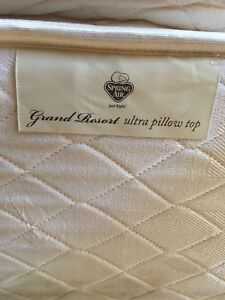 King Mattress and Frame for Sale