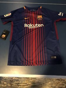 Authentic FC Barcelona jersey