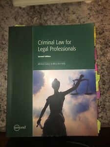 Criminal law for legal professionals