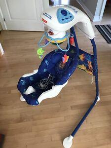 Baby swing - fisher price!
