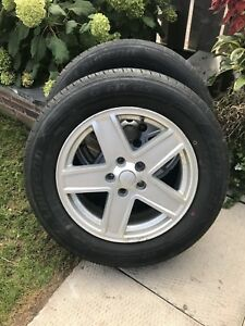 2 Tires And Rims 215/65/R17
