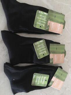 Men's bamboo socks x3