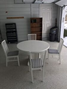 Dining and chairs