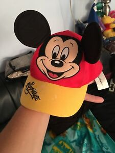 Kids new stuff animals  new Mickey Mouse hat
