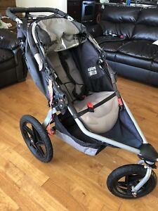 BOB Jogging Stroller + Car Seat & Base + Stroller Adapter