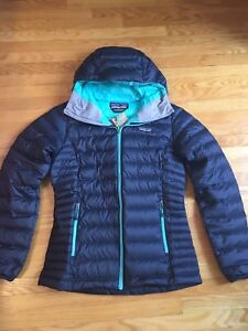 Patagonia Womens Down Sweater Hoody - size XS