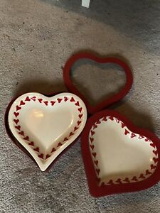 Heart dishes -  4