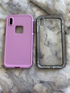 2 life proof iPhone XS Max cases