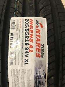 4 New 205/55/16 All Season Tires