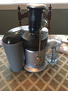 Brevelle Juicer with recipe books