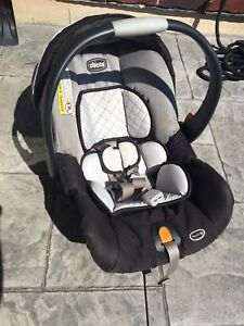 Baby car seat and stroller adapter