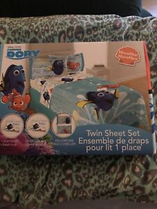 Finding Dory Twin Sheet Set  Brand New!