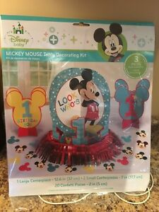 Mickey Mouse 1st Birthday decorations