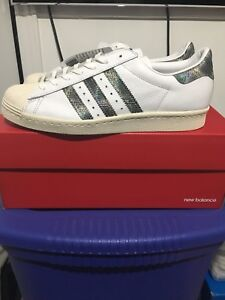 Adidas Superstar 80's Edition Snakeskin New w/Tags sz 9