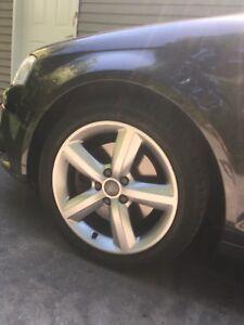 Audi 17 inch wheels S-Line 5x112