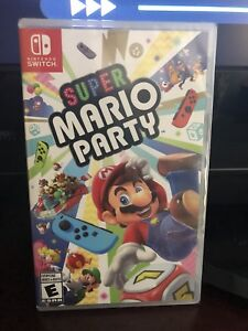 Brand New Super Mario Party for the Nintendo Switch