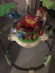 Toddler fisher-price rainforest jumperoo