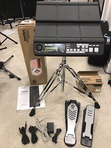 Yamaha DTX 12 drum module/ effects pad with all accessories