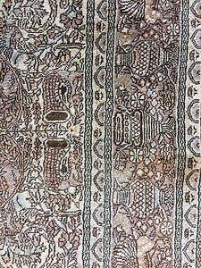 Silk rug 3 x. 5