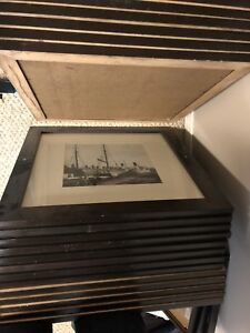 Large picture frames w/ photos