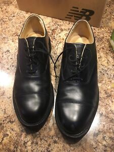Men's leather army dress shoes 8 1/2