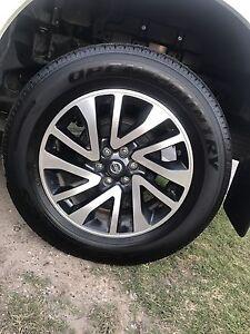 """18"""" Nissan Navara np300 wheels and tyres Coomera Gold Coast North Preview"""