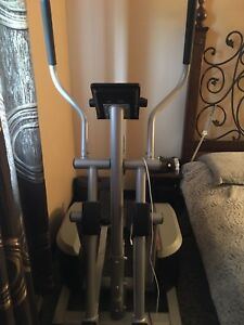 Elliptical workout machine