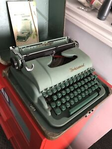 1970s Underwood Portable Typewriter