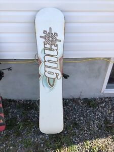 Youth and adult snowboard