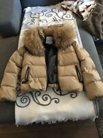 Moncler Puffer with Fox fur