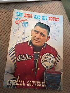 The King & His Court/Eddie Feigner Autographed